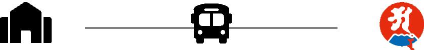 JR鹿児島中央駅から最福寺までバスで移動