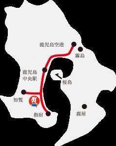 最福寺までの概略地図